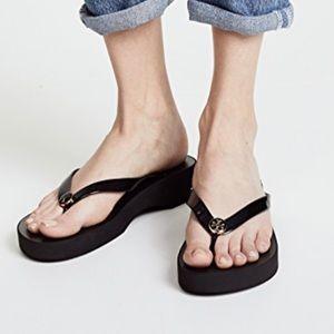 c693cd350949 Tory Burch Shoes - New Tory Burch Wedge Flip Flops🏝👙